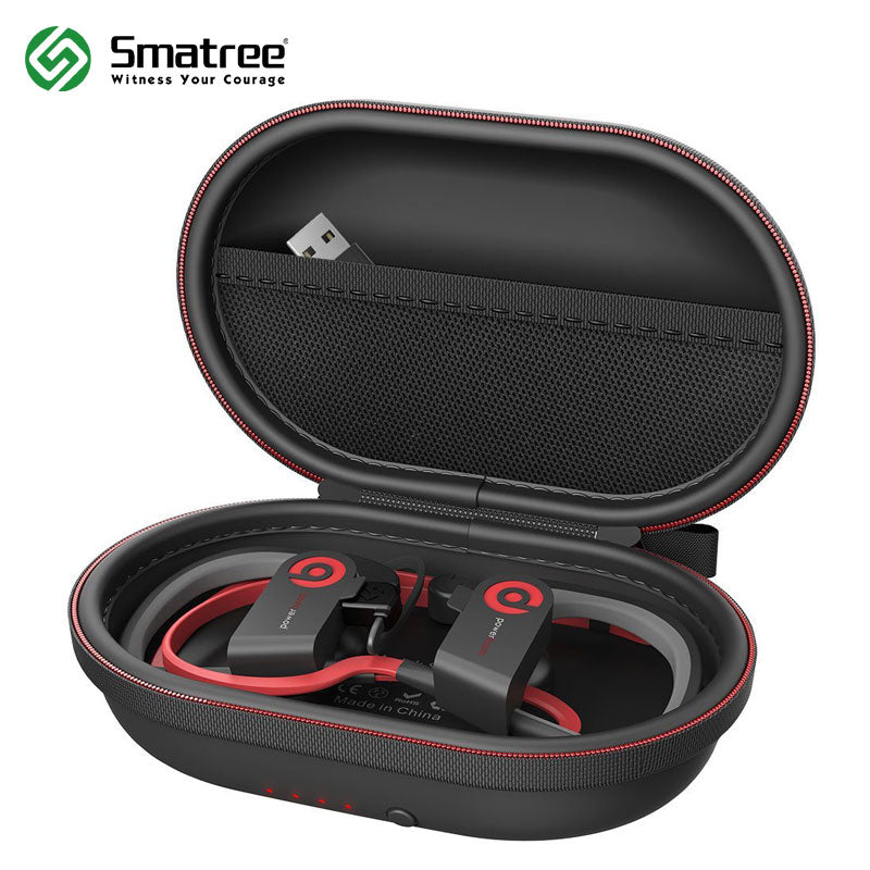 Smatree Charging Case S50 for Powerbeats 2,Powerbeats 3 and other Wireless bluetooth Headphone Hard Protective bag