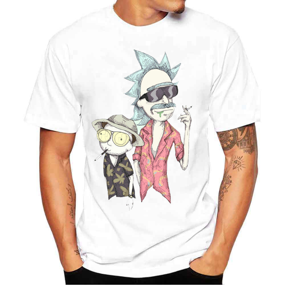 New Fashion Rick And Morty T-shirt Women/men Harajuku Tee Shirt Printed 3d Cartoon T Shirt Camisetas Funny Clothing Crop Tshirt