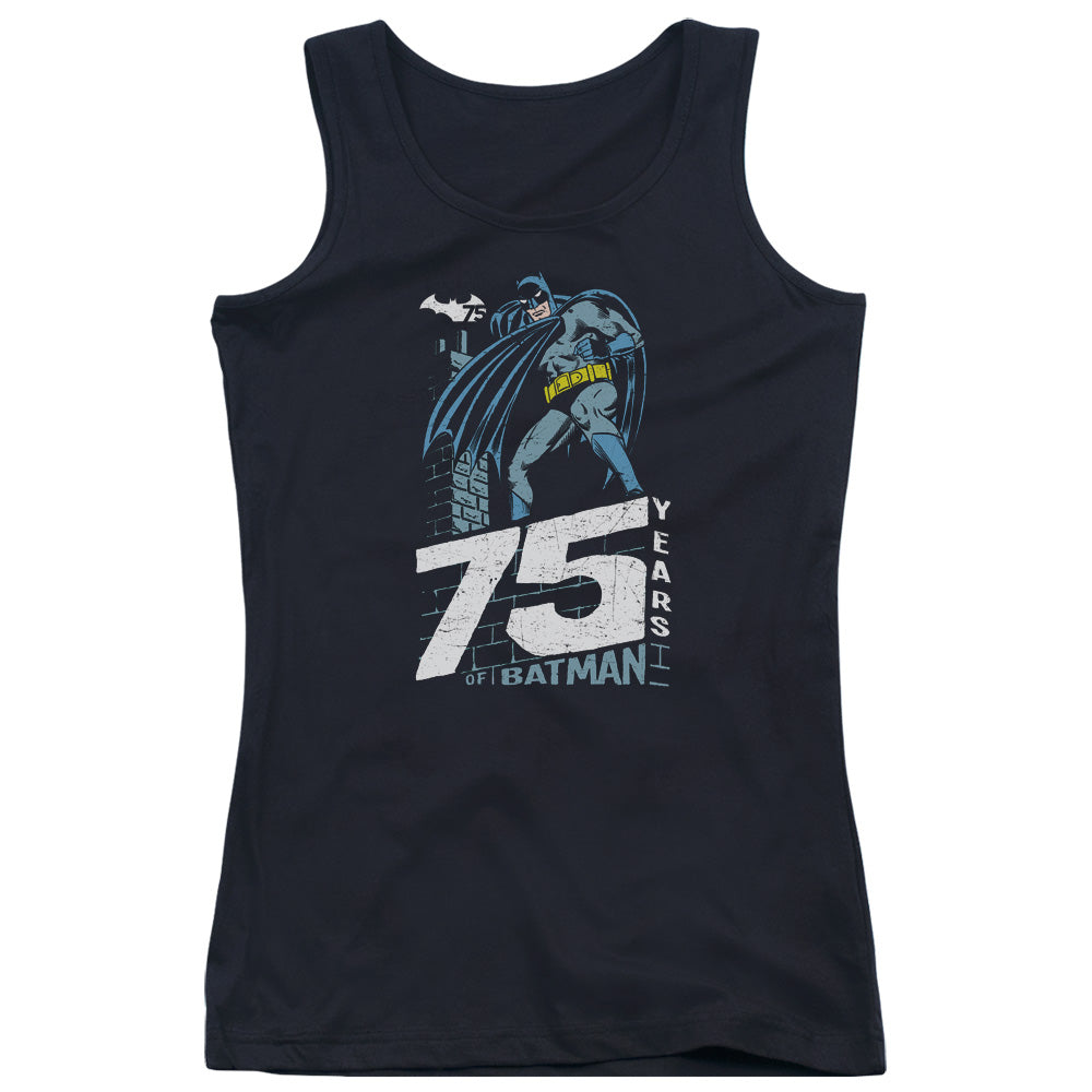 Batman - Rooftop Juniors Tank Top