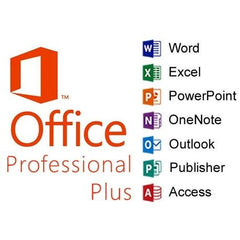 Microsoft Office Professional Plus 2019 1 PC Lifetime for Windows