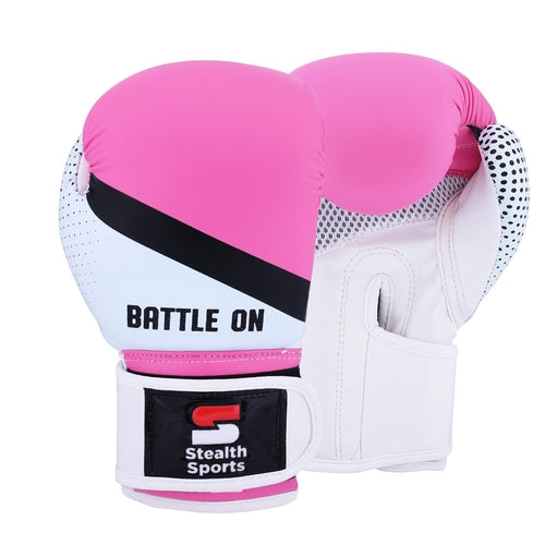 Junior Boxing Gloves (Pink)