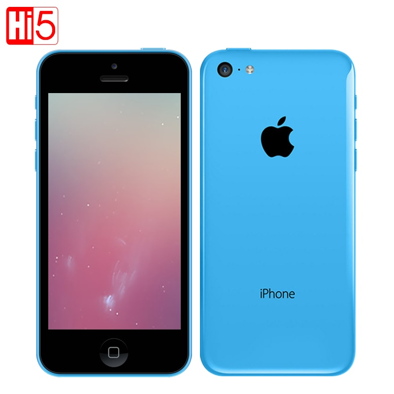 "Unlocked Apple iphone 5c mobile phone used unlocked 1GB RAM 8/16/32Gb ROM GSM WCDMA Dual Core 8MP Camera 4.0"" screen"