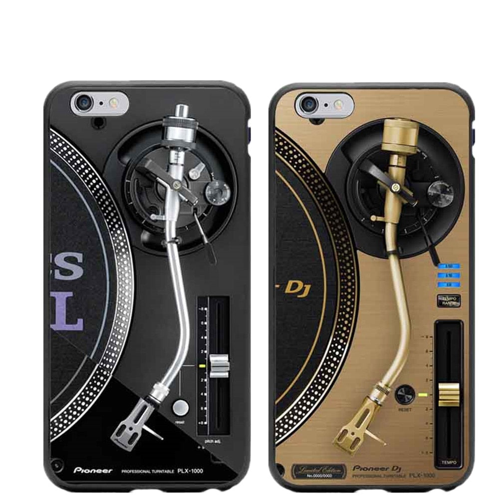 New Technics 1210s 1210 Turntables DJ Hard Phone Cases For iPhone 5 5S SE 6 6SPlus 7 7Plus 8 8Plus X Back Cover Bags