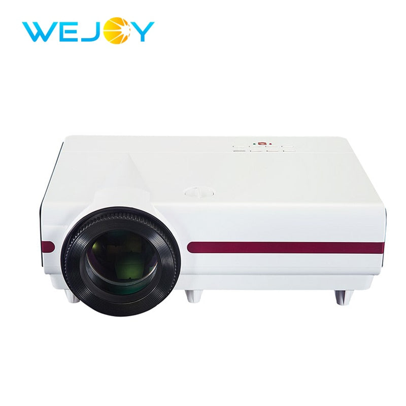 Wejoy LCD Projector Factory JX-900 300 ANSI Lumens Multimedia Video Digital 4k Projector Home Theater Cinema LED Projetor Beamer