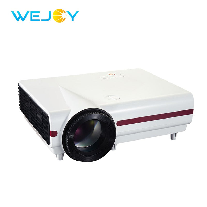 2018 Wejoy LCD Projector JX-900 Android System Video Digital Home Theater Projetor 300 Ansi Lumens HD Movie LED Proyector 4k DLP