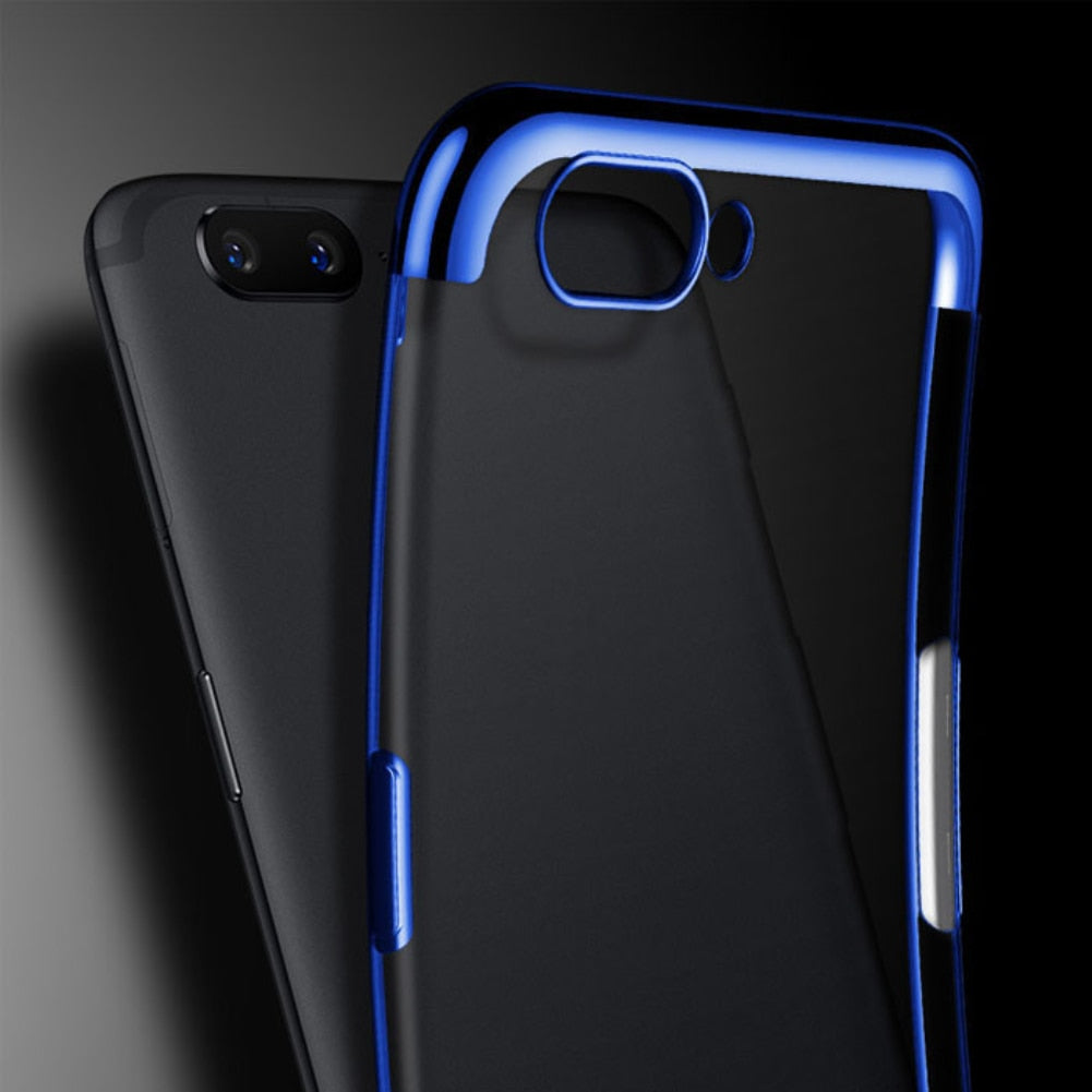 3 in 1 Case 360 Full Body Protective Case For Oneplus 5T 5 Oneplus 6T 6 Cover Luxury Hard PC Phone Cases for One Plus 6 Fundas