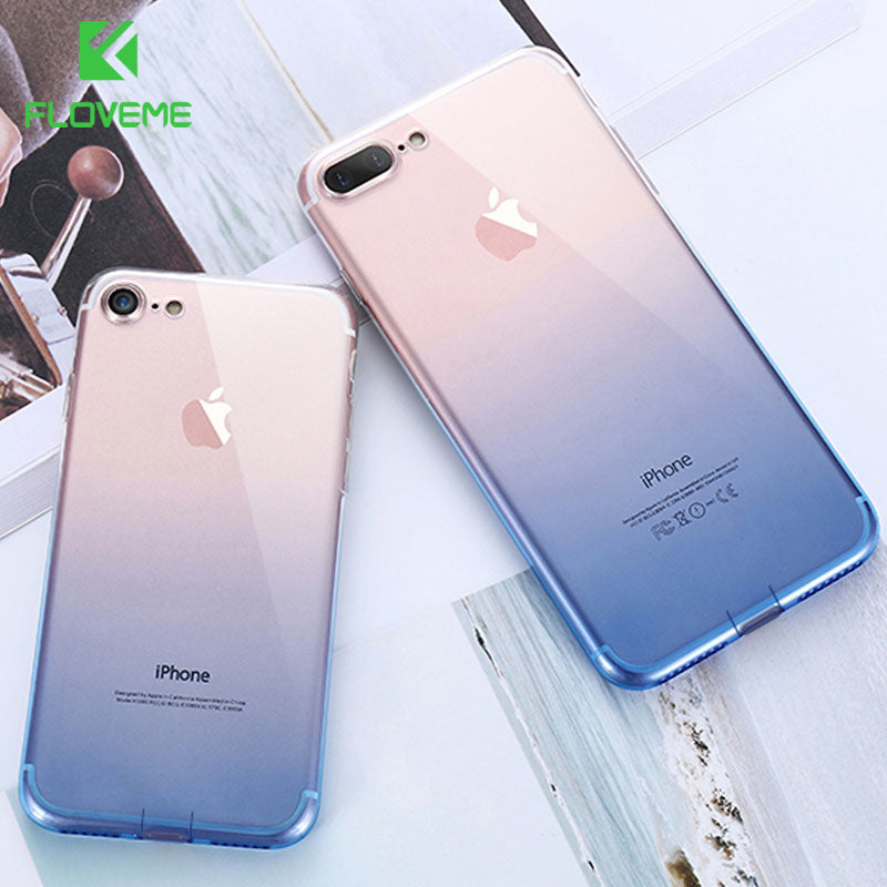 FLOVEME For iPhone 7 7 Plus X 8 Plus Case For iPhone X XS MAX XR Ultra Silicone Case For iPhone 6 6S Plus iPhone 5 5S SE XR Capa