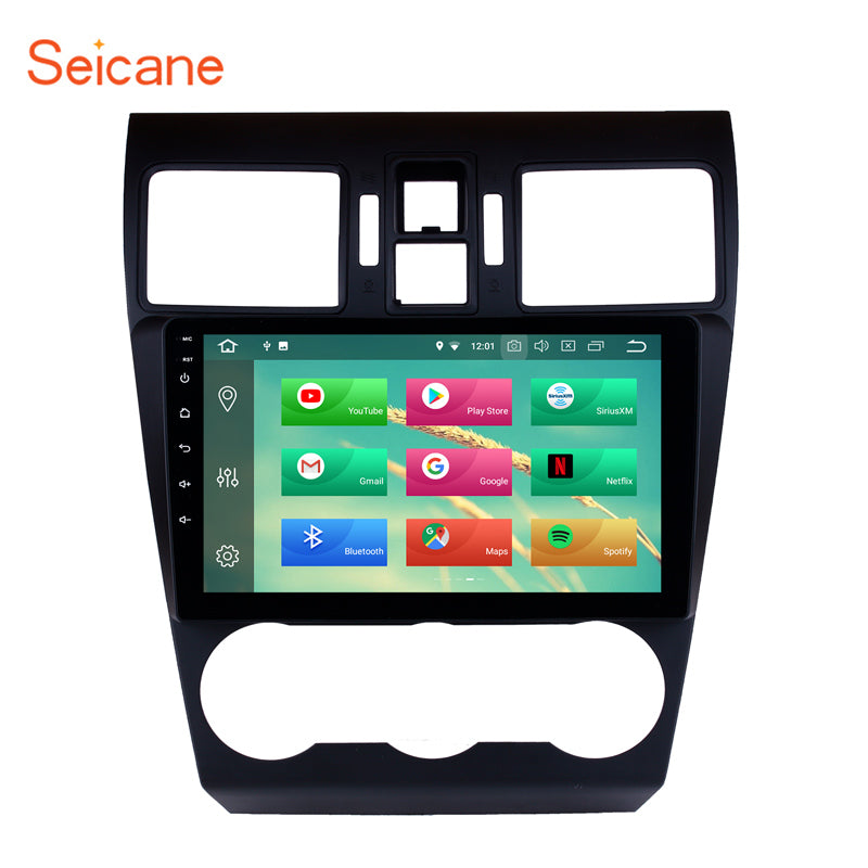 Seicane 9 inch Android 8.1/8.0  Car Radio Stereo Audio Multimedia Player GPS Head Unit For 2014 2015 2016 Subaru WRX forester