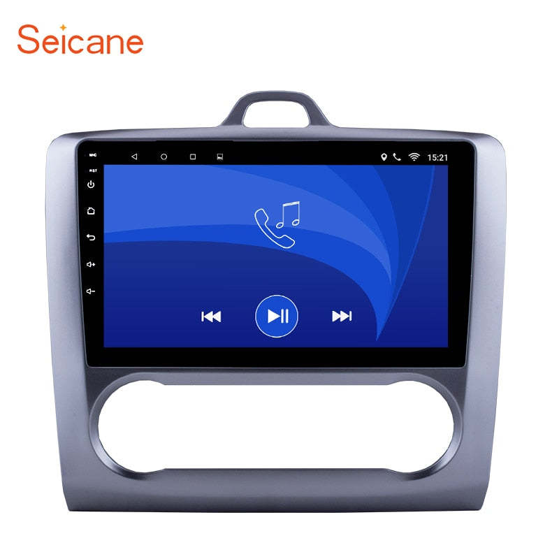 Seicane 2DIN Android 8.1 GPS Navigation Touchscreen Quad-core Car Radio for 2004-2011 Ford Focus Exi AT with FM AUX Bluetooth