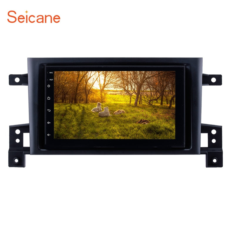"Seicane 7"" Quad-core Android GPS Navigation Car Radio with FM WIFI For 2005-2015 SUZUKI GRAND VITARA Support Bluetooth TPMS DVR"