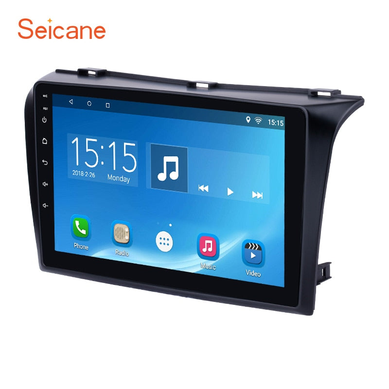 "Seicane 2 Din 9"" Android 7.1/6.0 Quad-core FM/AM Bluetooth Car Radio GPS Nav for Mazda 3 with WIFI 1024*600 Multi-touchScreen"