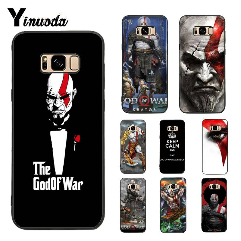 Yinuoda Case for Galaxy S9 Kratos God Of War 4 Lovely Soft Silicon Phone Accessories Case For Samsung Galaxy S4 S5 S6 S7 S8 S9