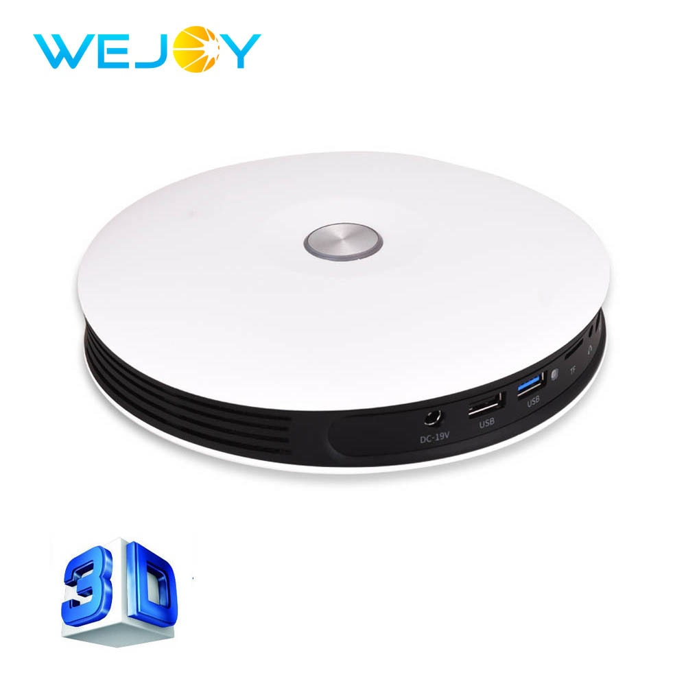 Wejoy Mini 3D 4K DLP Projector DL-S9 Full HD Proyector Support LED Video Phone Home Theater Android WIFI Beamer Battery 2+16G