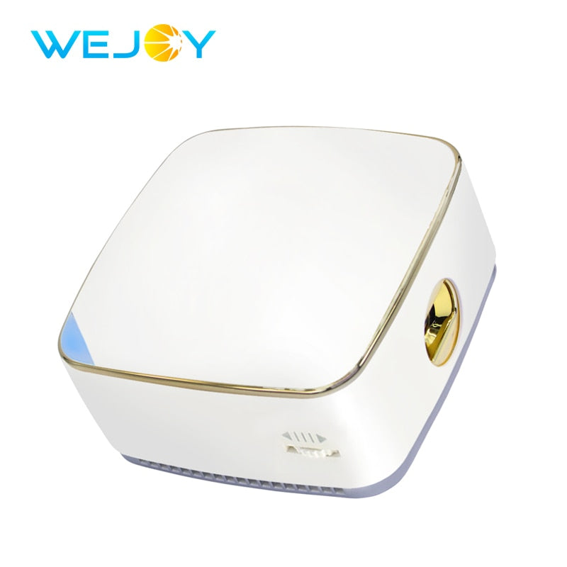 Wejoy DL-S8+ Mini Projector DLP Projetor Beamer Factory LED Pico Proyector WiFi Android 7.1 Handheld Projector Home Cinema TV 4K