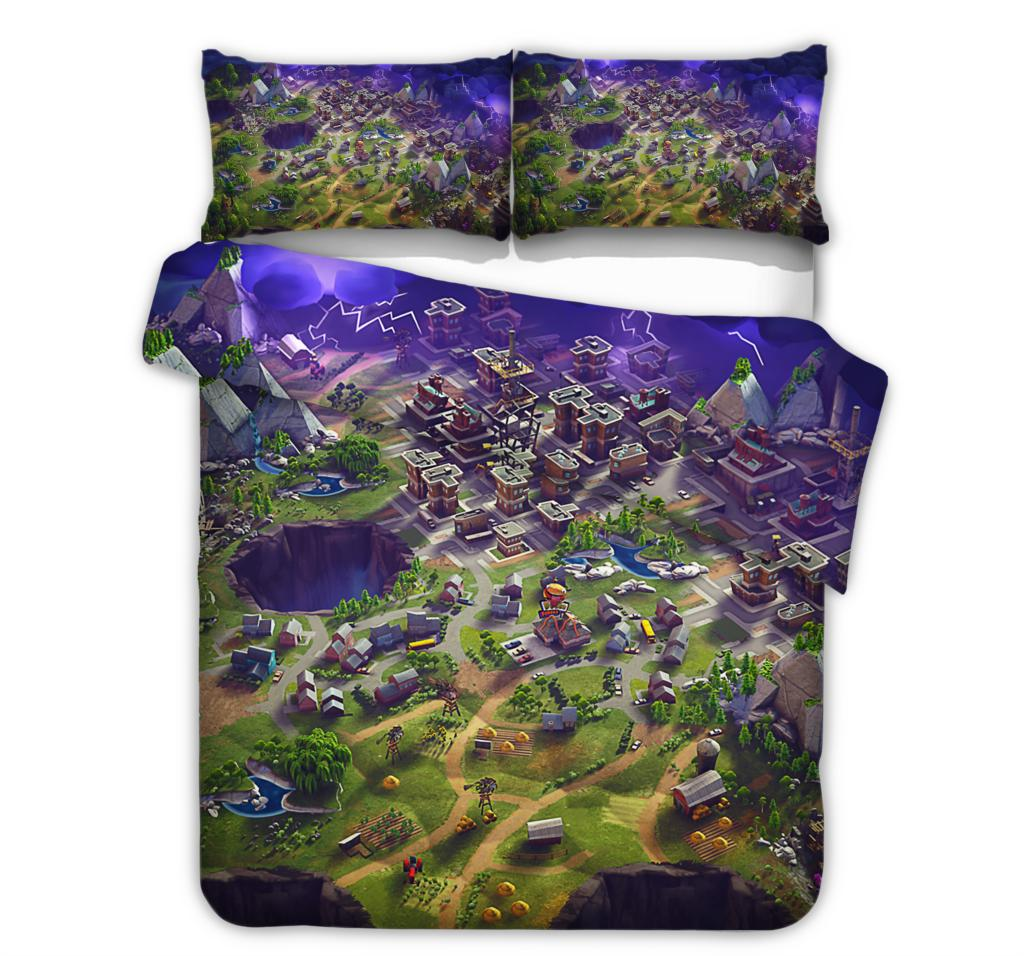 Dropshipping  3D print  Bedding set,kids' lovers' gift Duvet cover set Home Textiles Game Cartoon  game