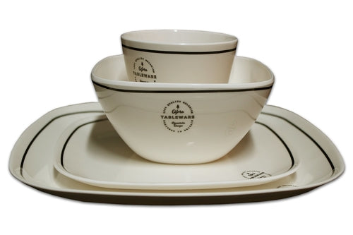 16 PIECE SIGNATURE MELAMINE SET