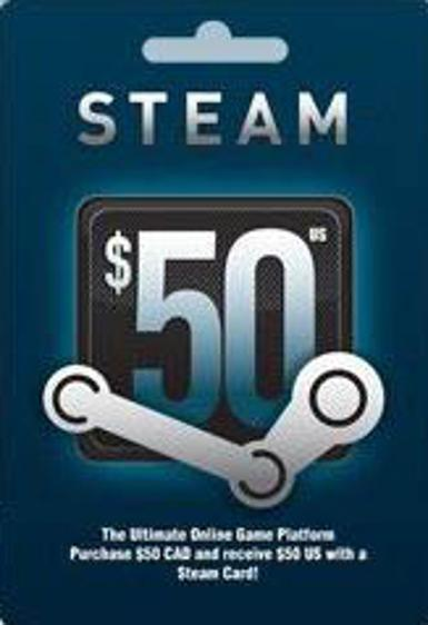 Steam Gift Card 50 $