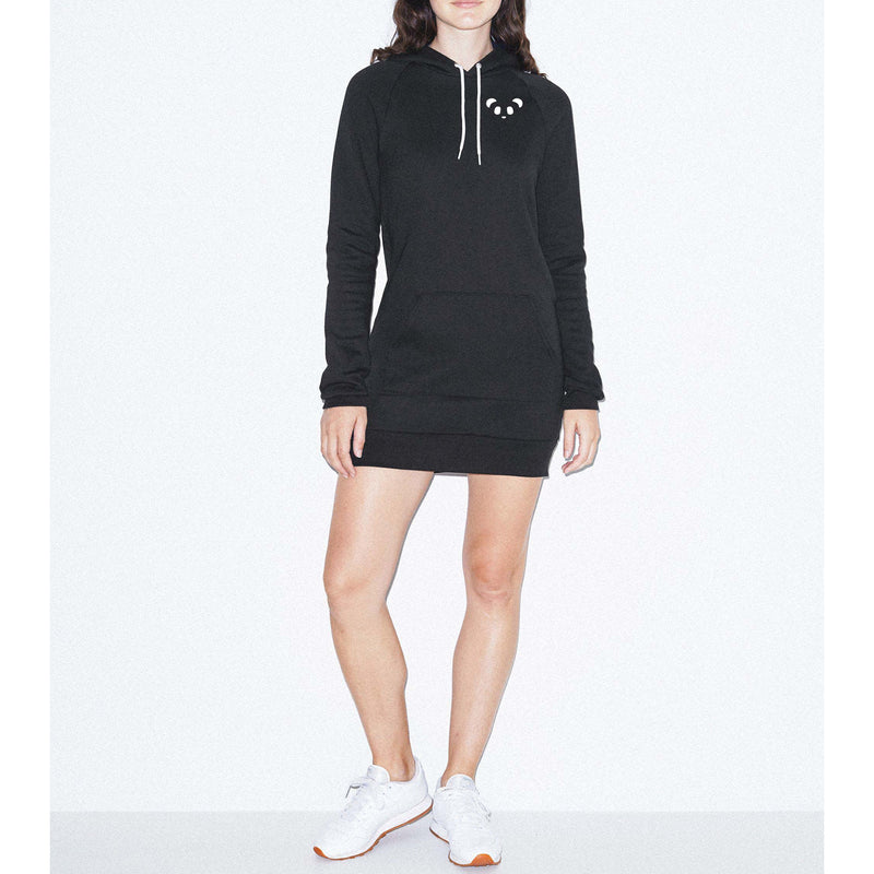 Poi Pu Flex Fleece Hoodie Dress