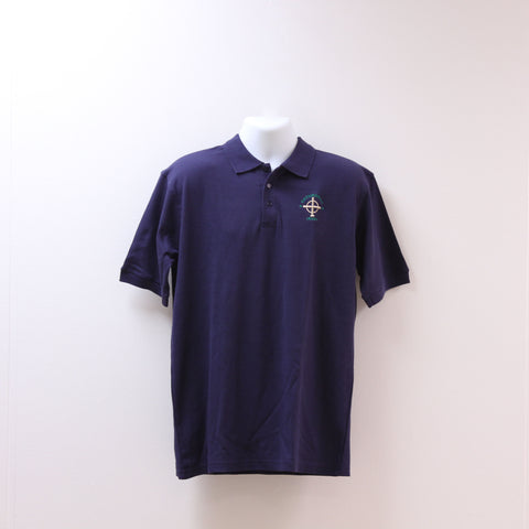 Short Sleeve Uniform Polo Navy