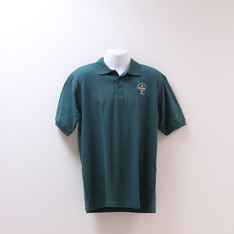 Short Sleeve Uniform Polo Green