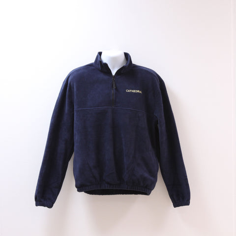 Uniform 1/4 Zip Fleece Navy