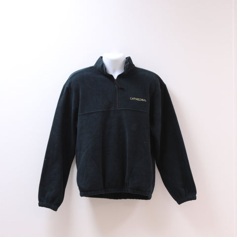 Uniform 1/4 Zip Fleece Green