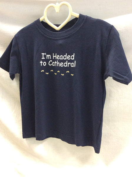 Headed to Cathedral tee