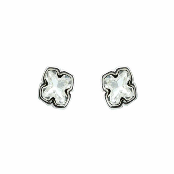 Antique Cross Stud Earrings