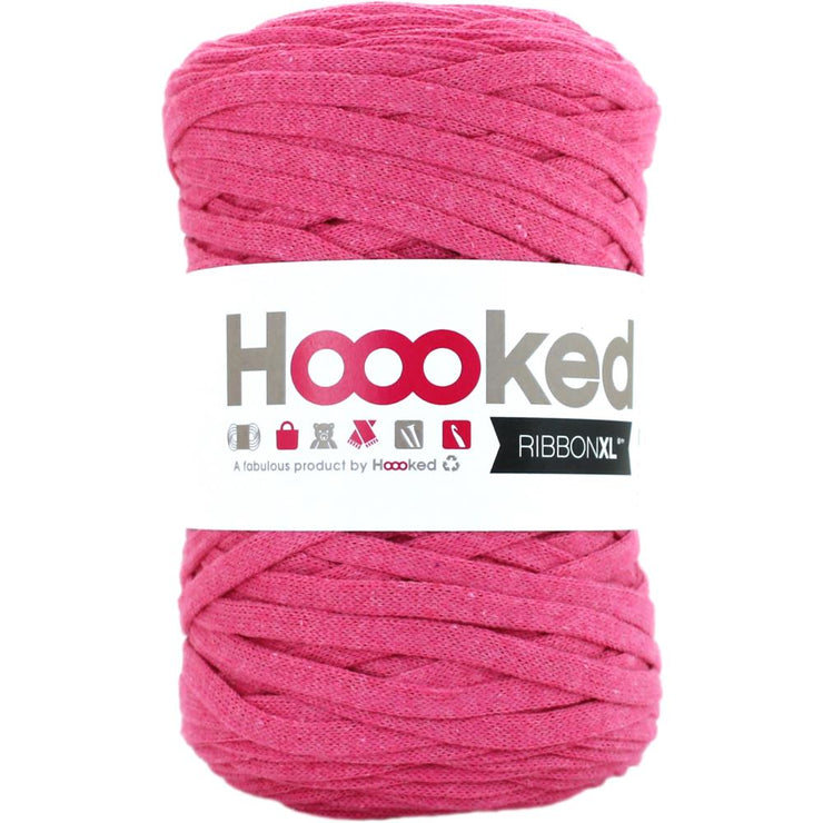 Hoooked Ribbon XL Yarn Bubblegum