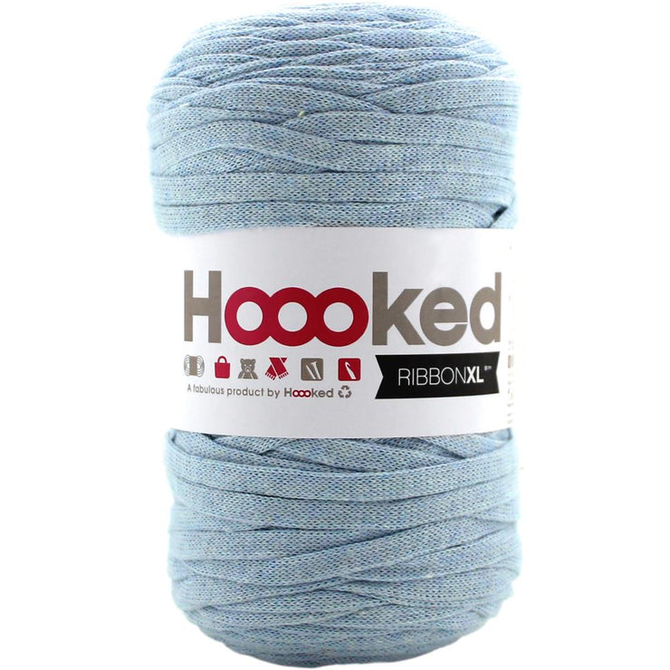 Hoooked Ribbon XL Yarn Powder Blue