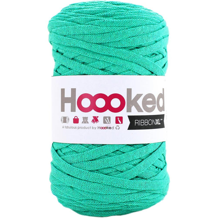 Hoooked Ribbon XL Yarn Happy Mint