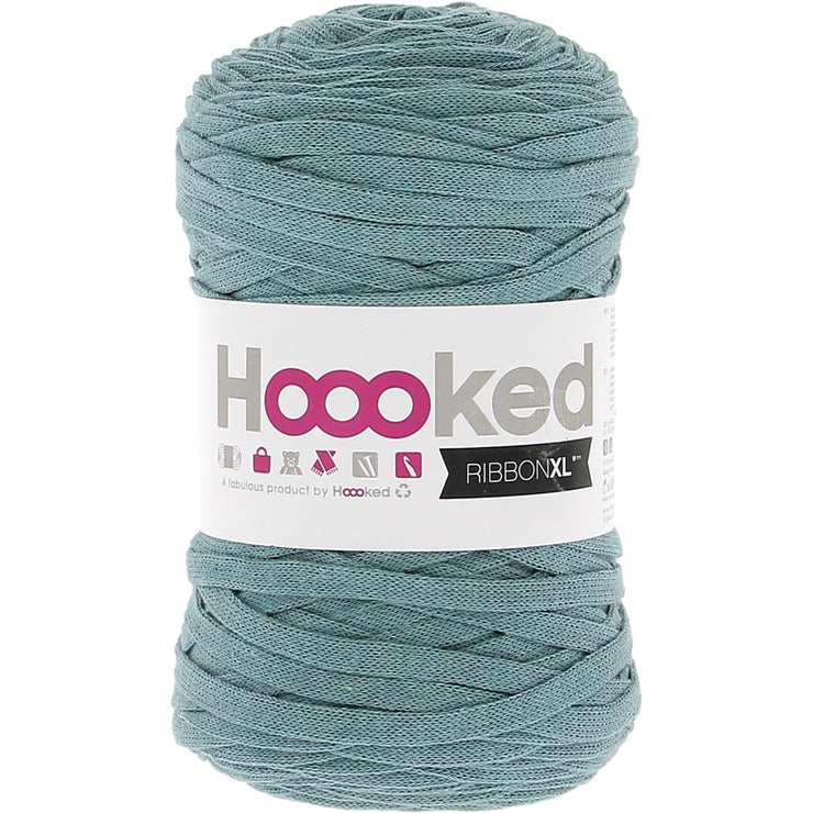 Hoooked Ribbon XL Yarn Emerald Splash
