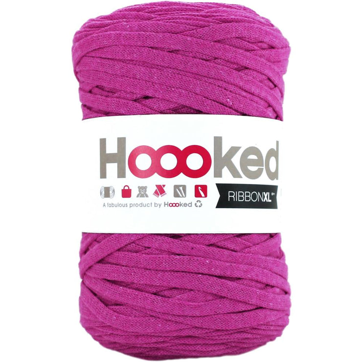 Hoooked Ribbon XL Yarn Crazy Plum