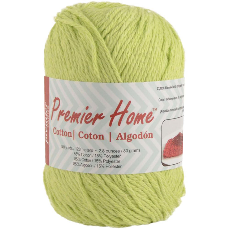 Premier Home Cotton Yarn Lime Green