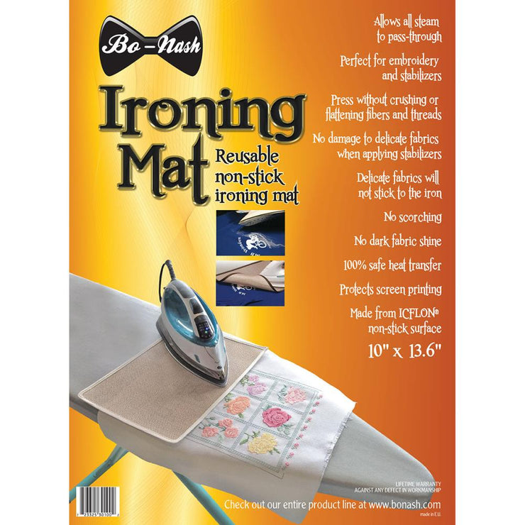 Bo-Nash Ironing Mat with Icflon Non-Stick Surface