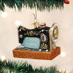 Sewing Machine Christmas Ornament Old World Christmas