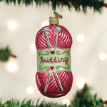 Knitting Yarn Christmas Ornament Old World Christmas