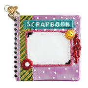 Scrapbook Christmas Ornament