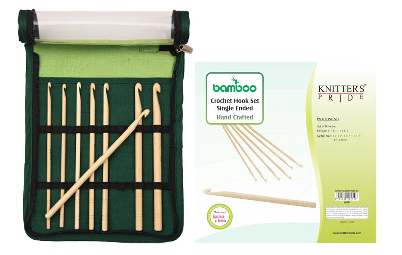 Bamboo Crochet Hook Set Knitter's Pride