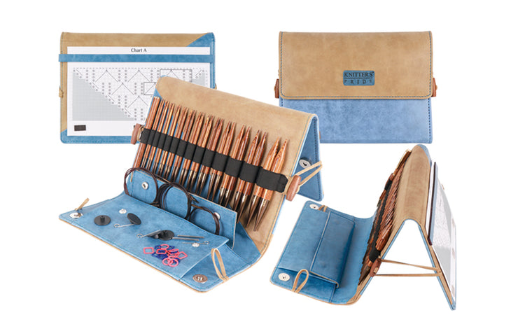 Ginger Interchangeable Needle Deluxe Set by Knitter's Pride