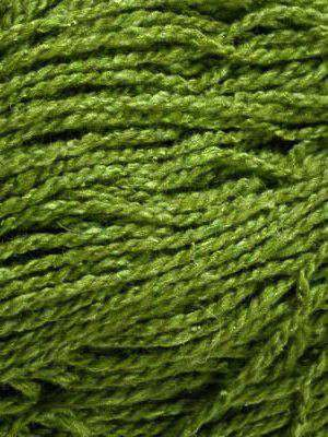 Silky Wool Yarn Elsebeth Lavold Sapling Green