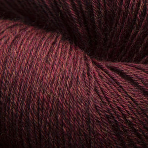 Mousam Falls Sock Yarn Fingering Weight Jagger Spun Garnet Red