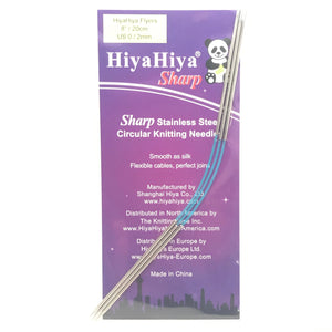 "HiyaHiya Flyers: 8"" Sharp Flexible Needles Set of 3"