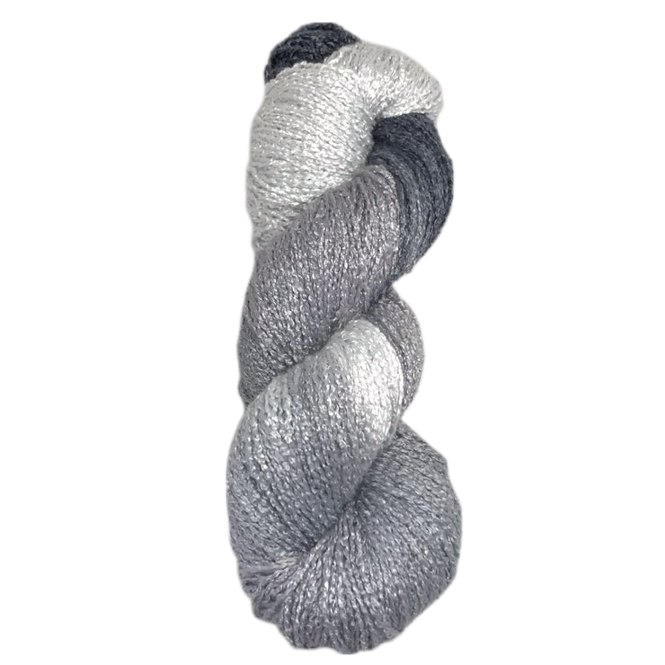 Zig Zag by Interlacements Yarns in Grey Wolf