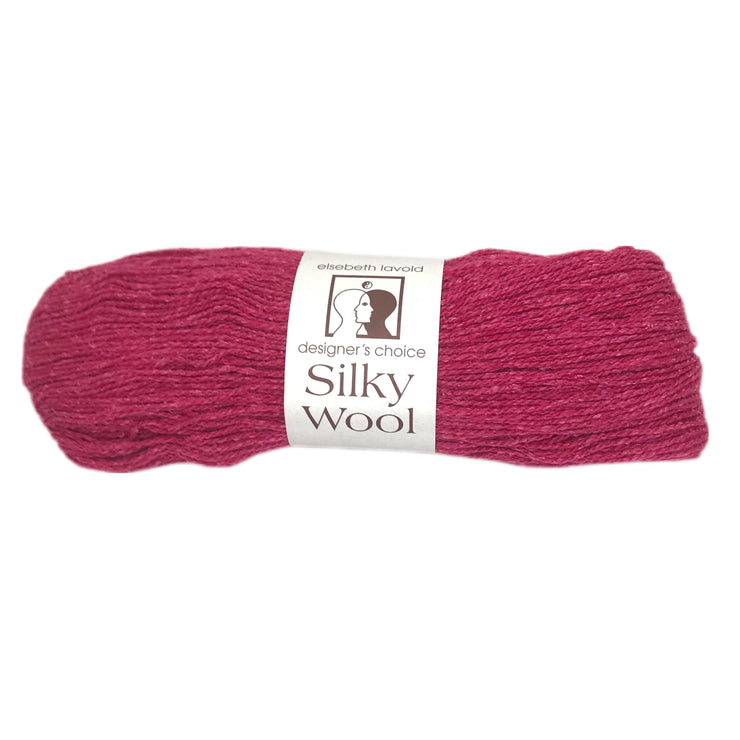 Silky Wool Yarn Elsebeth Lavold Royal Fuchsia