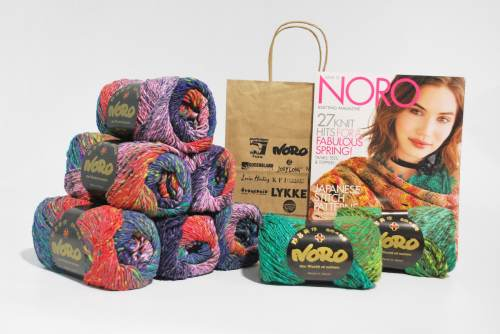 Noro Kagayaki Square in a Square Blanket Lockdown Relief Kit Direct Ship