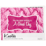 Knotes - Knitting Note Card Set of 8 ChiaGoo