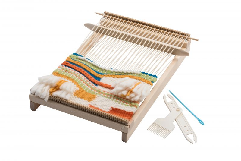 Schacht Lilli Loom - On the go tapestry weaving