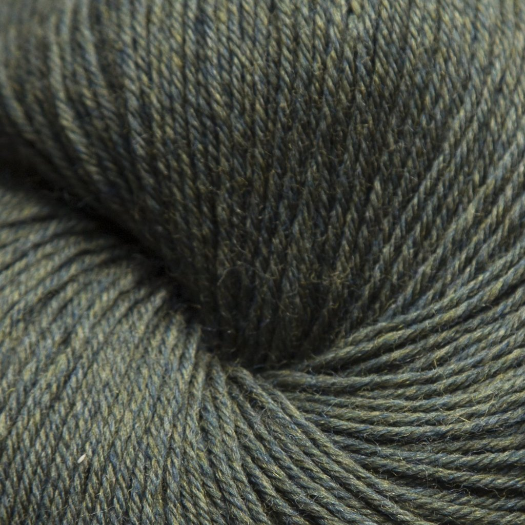 Mousam Falls Sock Yarn Fingering Weight Jagger Spun Loden Green