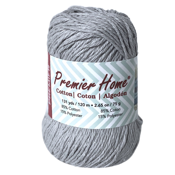 Premier Home Cotton Yarn Pewter Gray Grey